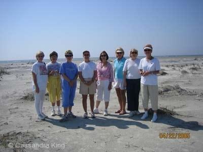 Same Sweet Girls visit on Fripp Island #1